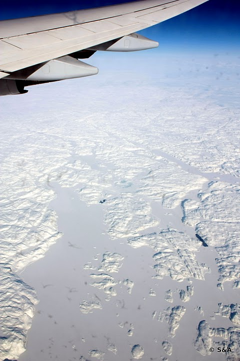 Iznad zaliva Hudson u Kanadi